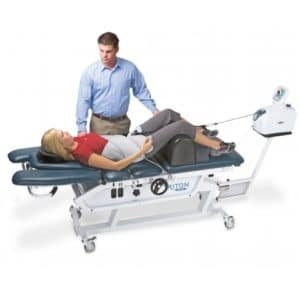 Spinal decompression, mechanical traction